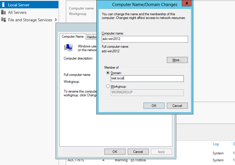 how to add domain controller to existing domain