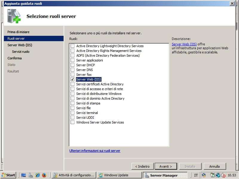 install iis manager in windows 7