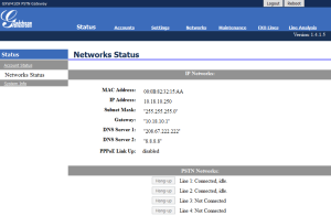 GrandStream4104-WebNwStatus